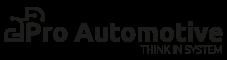 Pro automotive logo black
