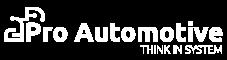 Pro Automotive logo white